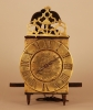 LA13 Vroege miniatuur Franse lantaarnwekker in ongerestaureerde staat