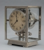 M176 Nickel plated art deco J. L. Reutter four-glass Atmos clock
