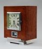 M149 Atmos clock, Amboina wood, J.L. Reutter, France circa 1930.
