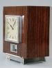 M146 Atmos clock, Palisander wood, J.L. Reutter nr. 4424, France circa 1930.