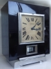 M197 Atmos clock in black case with print, J.L. Reutter UNNUMBERED!