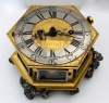 T18 Table clock with fusee movement, signed by the Dutch maker Christian Minepott