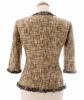 Chanel Multicolor Fantasy Tweed Fringed Jacket 03P - Chanel