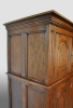 Small English foodcupboard, oak.