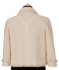 Chanel Classic Ivory Tweed Blazer 07A - Chanel