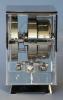 M203 Nikkel art deco JL Reutter vier glazen Atmos klok