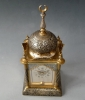 Oriental inspired carriage clock, in the  shape of a  mosque,  circa 1880.