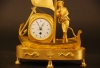M93 Rare genre matelot mantle clock