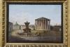 Grand Tour souvenir: micromozaïek van het Forum Boarium