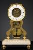 French Skeleton Clock, Robert Robin