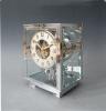 A fine model Atmos clock, chrome no 5634, by Jean Leon Reutter, circa 1930.