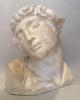 Gipsen academiekop: slaaf naar Michelangelo
