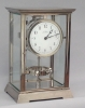 M218 Nickel art deco J.L. Reutter Atmos four-glass atmos clock, tall version