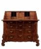 Een Louis XIV Orgelgebogen Klepbureau