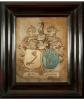Twee 17e eeuwse Huwelijksborden door Catharina Rost