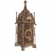 Early Possibly French Gothic Iron Chamber Clock, circa 1481