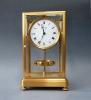 High model Atmos clock, gilt case, J. L. Reutter, no 447, France ca. 1930.