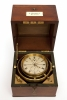Dutch marine chronometer signed and numbered on the dial Andreas Hohwü Amsterdam, No. 334, c. 1860