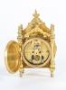 Nice and Small, Charming Miniature Traveling Clock, circa 1890