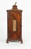 Very Nice and Charming 18th Century Mahogany English Country Bracket Clock