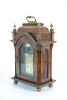 Very Small Unusual 18th Century Amsterdam Burr Walnut Bracket Clock
