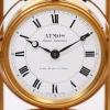 A French gilt atmos timepiece, J.L. Reutter, circa 1930
