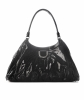 Gucci Black Patent Leather D Ring Hobo Bag - Gucci