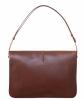 Gucci Brown Leather Horsebit Flap Shoulder Bag - Gucci