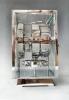 Mooie Art Deco model Atmos klok, chroom no 5227, Jean Leon Reutter, circa 1930.