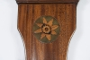 A good English mahogany inlaid wheelbarometer by L. Giannal Salop, circa 1820.