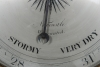 """An imposing king size wheel barometer by """"Tarelli"""" New Castle, circa1840"""