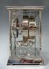 Atmos clock, nickel case J. L. Reutter, no 1397, France ca. 1930.