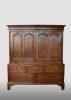 English cabinet, late 18th century.