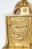 A very popular, untouched library empire ormolu mantel clock so called