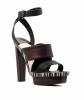 Balenciaga Leather Platform Sandals - Balenciaga
