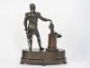 Unusual Bronze Sculpture from Blücher Fürst von Wahlstatt, circa 1810