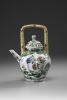 A Famille Verte Teapot