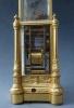 A rare French 'singing bird' automata carriage clock, striking, circa 1850.