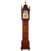 A Dutch burr walnut striking longcase clock Adriaan de Baghijn Amsterdam circa 1740