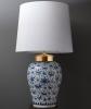 Een Paar Vazen in Delfts Blauw Wit Delfts Aardewerk ( Lampen )