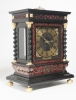 An important and very unusual French 'Religieuse' Table Clock, circa 1680
