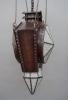 An unusual Amsterdam School Hanglamp from around 1900