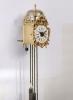 A miniature French alarm lantern wall timepiece, circa 1760