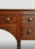English dresserbase with five drawers, lateb 18th century.