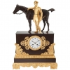 A good Charles X / Louis Philippe period Ormolu French Mantel clock circa 1840.