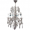 A good and very decorative probably French chandelier from circa 1880.