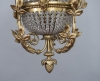 Late 19th century romantic and charming very desirable ceiling hang lamp