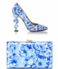 Charlotte Olympia Ming 'Debbie' Pumps and Ming Pandora Clutch