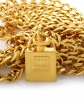 Chanel Perfume Bottle Charm Necklace/Belt - Chanel