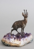 A very realistic and unusual so called chamois deer, circa 1900